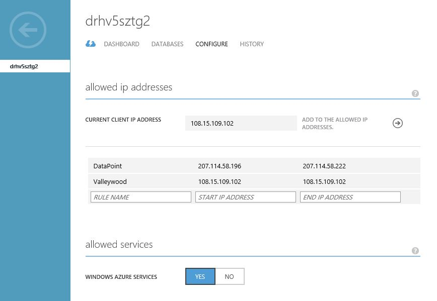 SQL Server Access Control